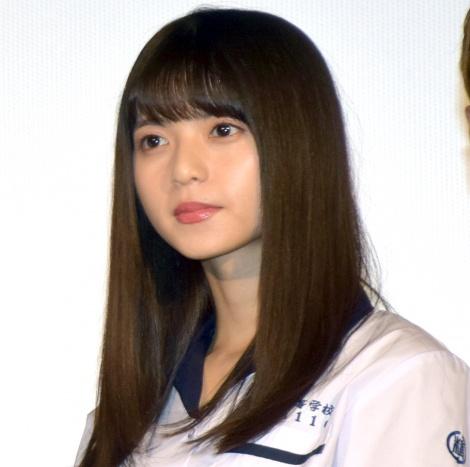 映画『あの頃、君を追いかけた』完成披露試写会に出席した齋藤飛鳥 (C)ORICON NewS inc.