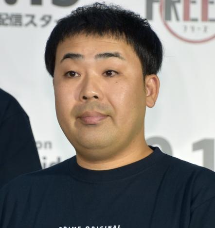 『HITOSHI MATSUMOTO Presents FREEZE(フリーズ)』配信記念記者発表会に出席したフットボールアワー・岩尾望 (C)ORICON NewS inc.