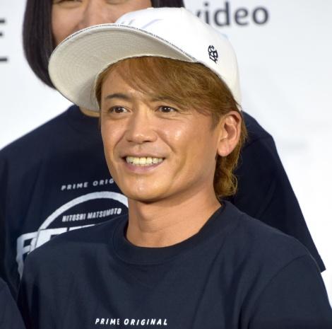 『HITOSHI MATSUMOTO Presents FREEZE(フリーズ)』配信記念記者発表会に出席した諸星和己 (C)ORICON NewS inc.