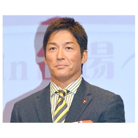 『アンチエイジングフェア2018 in台場』オープニングセレモニーに登場した長嶋一茂 (C)ORICON NewS inc.