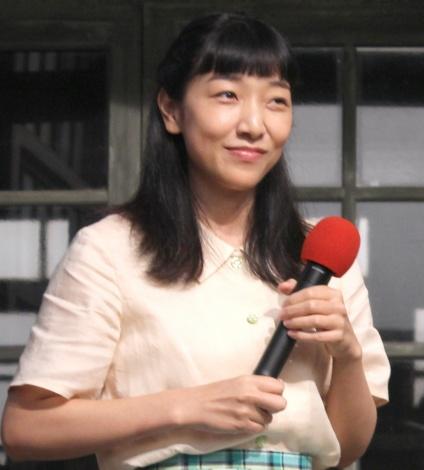 NHK連続テレビ小説のバトンタッチセレモニーに出席した安藤サクラ (C)ORICON NewS inc.