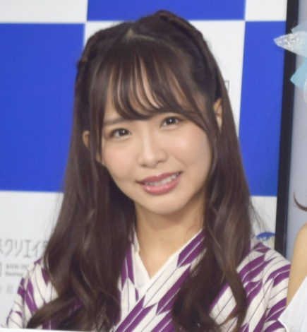 『愛知デスティネーション』のキャンペーン発表会に出席したSKE48・松村香織 (C)ORICON NewS inc.
