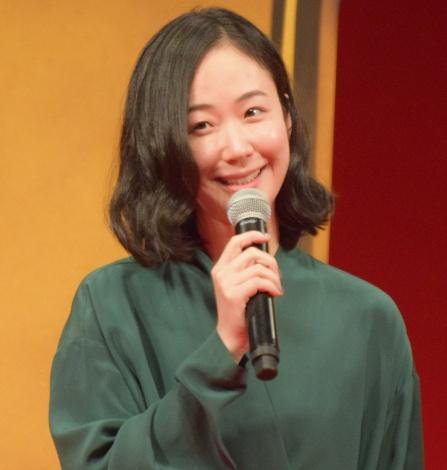 映画『億男』完成披露試写会に出席した黒木華 (C)ORICON NewS inc.