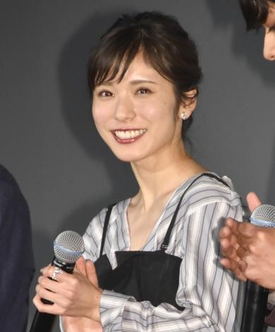 映画『勝手にふるえてろ』の舞台あいさつに出席した松岡茉優 (C)ORICON NewS inc.