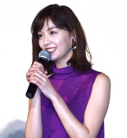 石橋杏奈=映画『勝手にふるえてろ』舞台あいさつ (C)ORICON NewS inc.