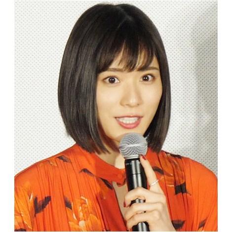 舞台あいさつに出席した松岡茉優 (C)ORICON NewS inc.