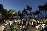 『ホノルル ハーフマラソン・ハパルア』レースの様子