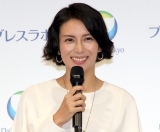薬用イオン歯みがき&洗口液「ブレスラボ」新ブランドテレビCM発表会の模様 (C)ORICON NewS inc.