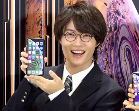 『iPhone XS/iPhone XS Max』発売イベントに出席した神木隆之介 (C)ORICON NewS inc.