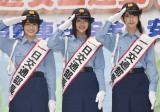 けやき坂46(左から)丹生明里、渡邉美穂、金村美玖 (C)ORICON NewS inc.