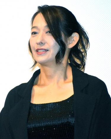 片岡礼子=映画『純平、考え直せ』初日舞台あいさつ (C)ORICON NewS inc.