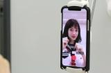 10月3日にスタートする新番組『アナ行き!』の宣伝のため、人気TikToker「むくえな」と弘中綾香アナウンサーがコラボレーション(C)テレビ朝日