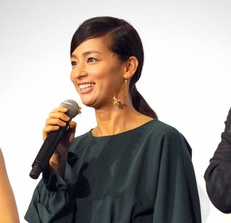 第3話「ホーチミン篇」(WOWOW)に出演する尾野真千子=「Paravi」オリジナルドラマ『tourist』の完成披露試写会 (C)ORICON NewS inc.