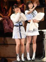 惜しくも敗れた「MUOM」=『AKB48グループ 第2回ユニットじゃんけん大会』 (C)ORICON NewS inc.