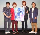 『pet』アニメ・舞台プロジェクトに出席した(左から)小野友樹、植田圭輔、谷山紀章、加瀬康之 (C)ORICON NewS inc.