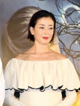 予想キャンペーンも実施された、ケイト・ブランシェット演じる魔女のツィマーマンの吹き替えは宮沢りえが担当 (C)ORICON NewS inc.