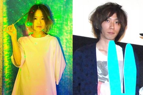 結婚した(左から)鳥飼茜氏(撮影:杉原洋平)、浅野いにお氏