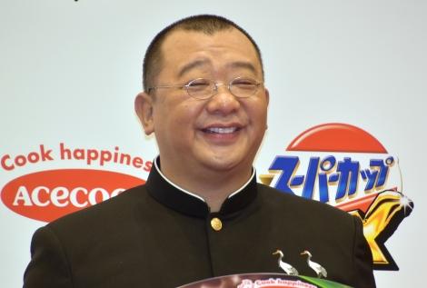 エースコック『スーパーカップMAX』発表会に出席した木下隆行 (C)ORICON NewS inc.