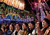 ユニバーサル・スタジオ・ジャパンのクリスマス・アンバサダーに就任した関ジャニ∞ 画像提供:ユニバーサル・スタジオ・ジャパン