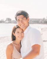 『TERRACE HOUSE ALOHA STATE』で誕生したカップル、玉城大志と福山智可子が婚約(写真はブログより)
