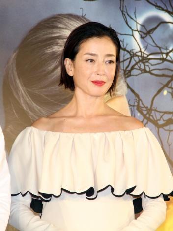 映画『ルイスと不思議の時計』予想キャンペーンも実施された、ケイト・ブランシェット演じる魔女のツィマーマンの吹き替えは宮沢りえが担当 (C)ORICON NewS inc.