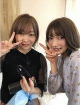『今夜くらべてみましたSP』に出演する後藤真希、指原莉乃 (C)日本テレビ
