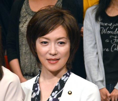 東海テレビ・フジテレビ系連続ドラマ『結婚相手は抽選で』制作発表に出席した若村麻由美 (C)ORICON NewS inc.