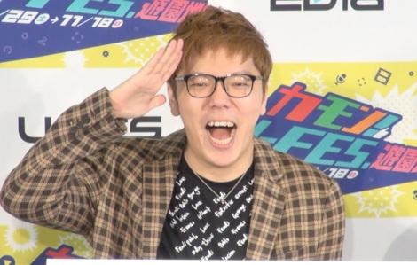 クリエイターイベント『カモン!U-FES.遊園地!』メディア内覧会に出席したHIKAKIN (C)ORICON NewS inc.