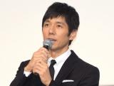 映画『散り椿』の初日舞台あいさつに出席した西島秀俊 (C)ORICON NewS inc.
