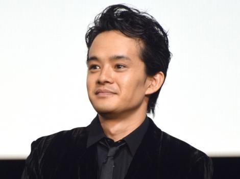 映画『散り椿』の初日舞台あいさつに出席した池松壮亮 (C)ORICON NewS inc.