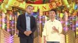 9月29日放送、NHK総合『有田Pおもてなす Produce_19』お客様の壇蜜のために有田Pがプロデュースしたネタを披露するカミナリ(C)NHK