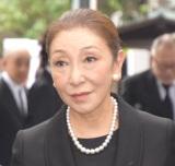 樹木希林さん告別式に参列した安藤和津 (C)ORICON NewS inc.