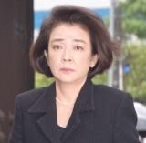 樹木希林さん告別式に参列した岸本加世子 (C)ORICON NewS inc.