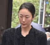 樹木希林さん告別式に参列した黒木華 (C)ORICON NewS inc.