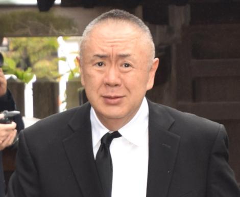 樹木希林さん告別式に参列した松村邦洋 (C)ORICON NewS inc.