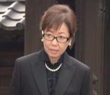 樹木希林さん告別式に参列した浅田美代子 (C)ORICON NewS inc.