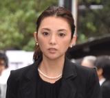 樹木希林さん告別式に参列した田中麗奈 (C)ORICON NewS inc.