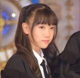 ラストアイドル2期生正式メンバーとなった立ち位置3番の田中佑奈 (C)ORICON NewS inc.