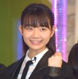 ラストアイドル2期生正式メンバーとなった立ち位置4番の篠田萌 (C)ORICON NewS inc.