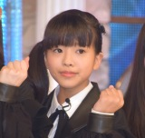 ラストアイドル2期生正式メンバーとなった立ち位置6番の山本琉愛 (C)ORICON NewS inc.
