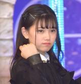 ラストアイドル2期生正式メンバーとなった立ち位置9番の大場結女 (C)ORICON NewS inc.