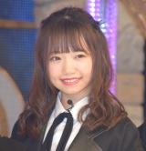 ラストアイドル2期生正式メンバーとなった立ち位置10番の畑美紗起 (C)ORICON NewS inc.
