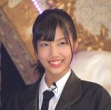 ラストアイドル2期生正式メンバーとなった立ち位置12番の栗田麻央 (C)ORICON NewS inc.