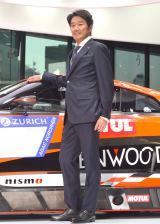 『KONDO Racing Team』と日産自動車とのモータースポーツ活動計画発表会に出席した近藤真彦 (C)ORICON NewS inc.