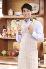 『キユーピー3分クッキング』4代目男性アシスタントとして加入する山本紘之アナ (C)日本テレビ