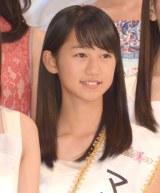 第15回『全日本国民的美少女コンテスト』でマルチメディア賞を受賞した竹内美南海さん (C)ORICON NewS inc.