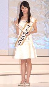 第15回『全日本国民的美少女コンテスト』でグランプリに輝いた井本彩花さん (C)ORICON NewS inc.