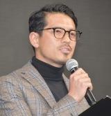 スポーツチャンネル『DAZN 2018キャンペーン発表会』に出席した鈴木啓太 (C)ORICON NewS inc.
