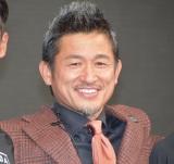 スポーツチャンネル『DAZN 2018キャンペーン発表会』に出席した三浦知良 (C)ORICON NewS inc.