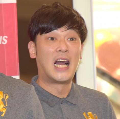 新スポーツ『ヘディス』のチャンピオンシップ日本予選の開催発表会見に参加したガリットチュウ・熊谷岳大 (C)ORICON NewS inc.